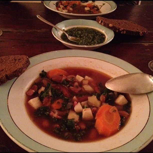 Superlekkere minestrone